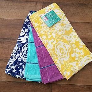The Pioneer Woman 4pk Kitchen Towels Celia Floral